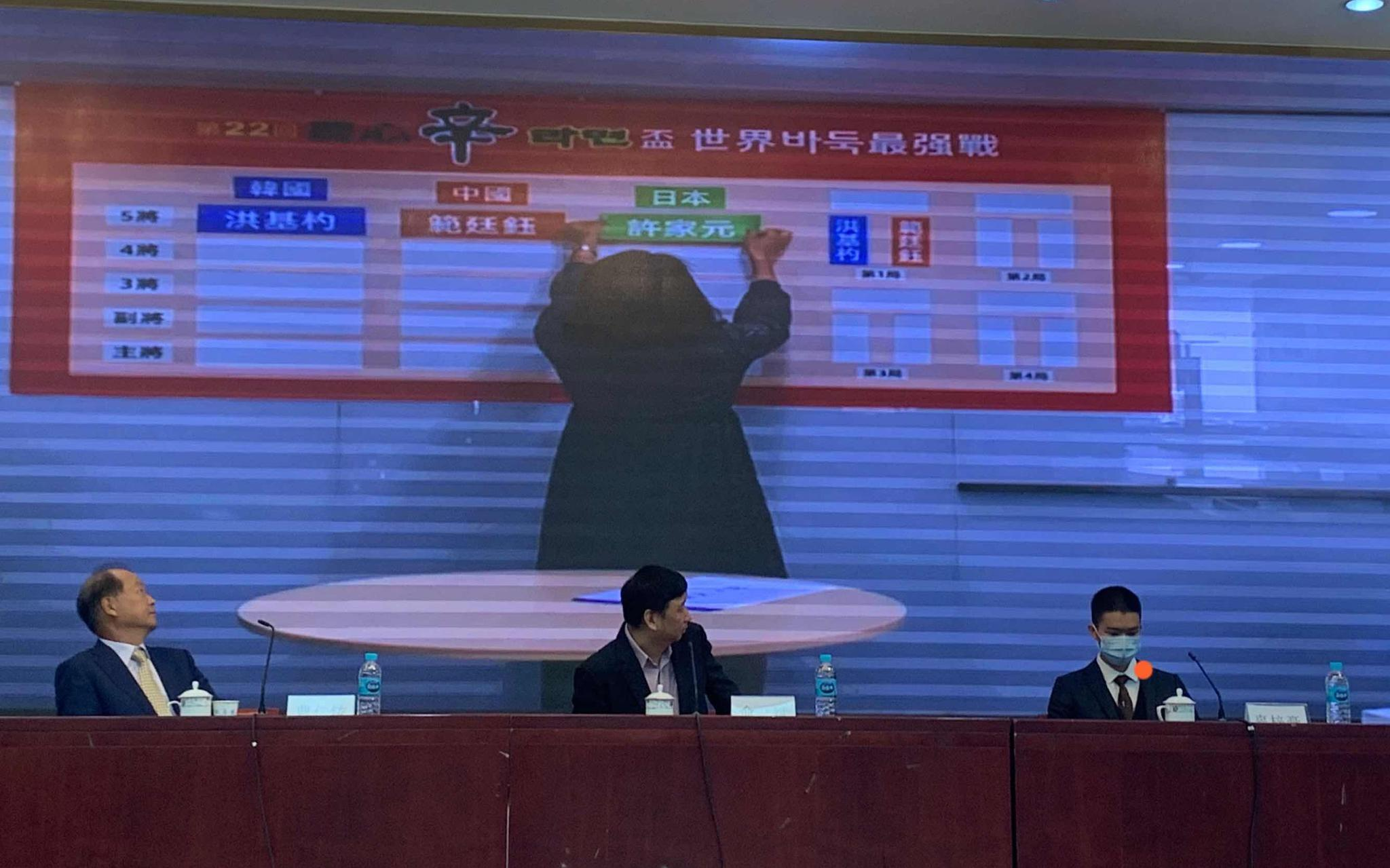 农心杯中国队派出五虎上将,范廷钰任先锋打头阵图片
