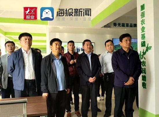 山东寿光:济宁溧水县委组织部长秦明道田