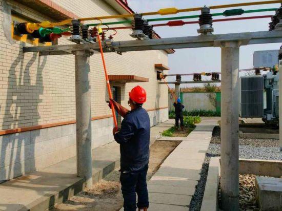 哈尔滨市香坊区66 kV襄阳变电站二号主厂房成功投