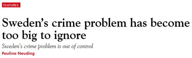 """""""低犯罪率""""的瑞典,这回失控了"""