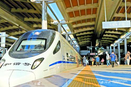 高速铁路提速新丝绸之路——乌鲁木齐至