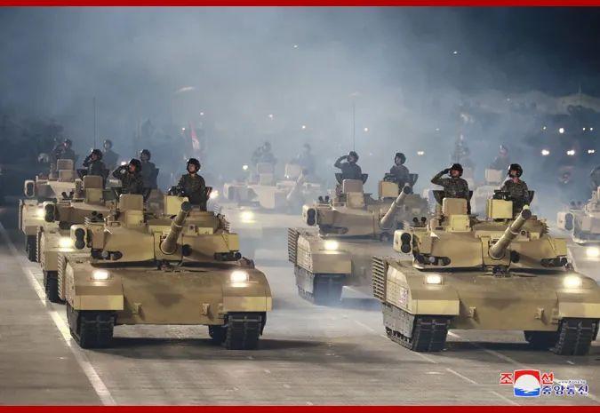 朝鲜阅兵展示的最新坦克 是个什么水平