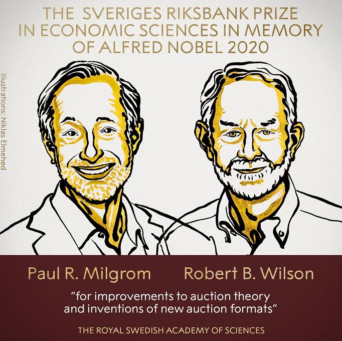 """他们拿了今年诺贝尔经济学奖,因为""""拍卖理论"""""""