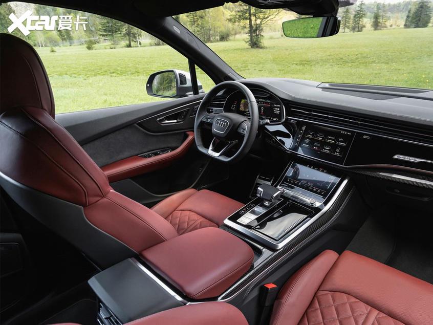 新款奥迪SQ7汽油版海外售价 约合91万元
