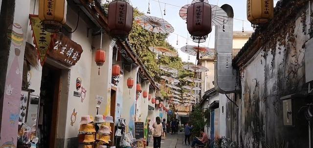 深圳布吉甘坑客家小镇 不用去丽江也能体