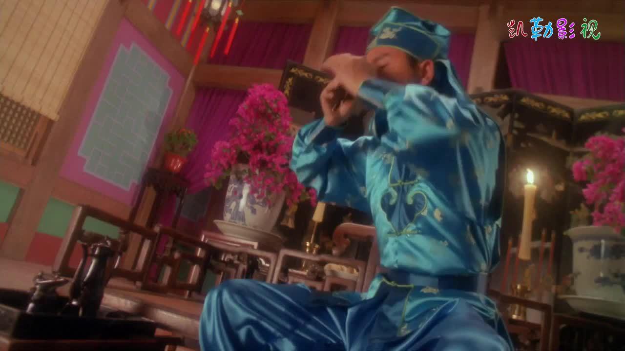 段王爷假扮歌姬调戏黄药师,奇葩造型太辣眼,黄药师被折腾惨了!