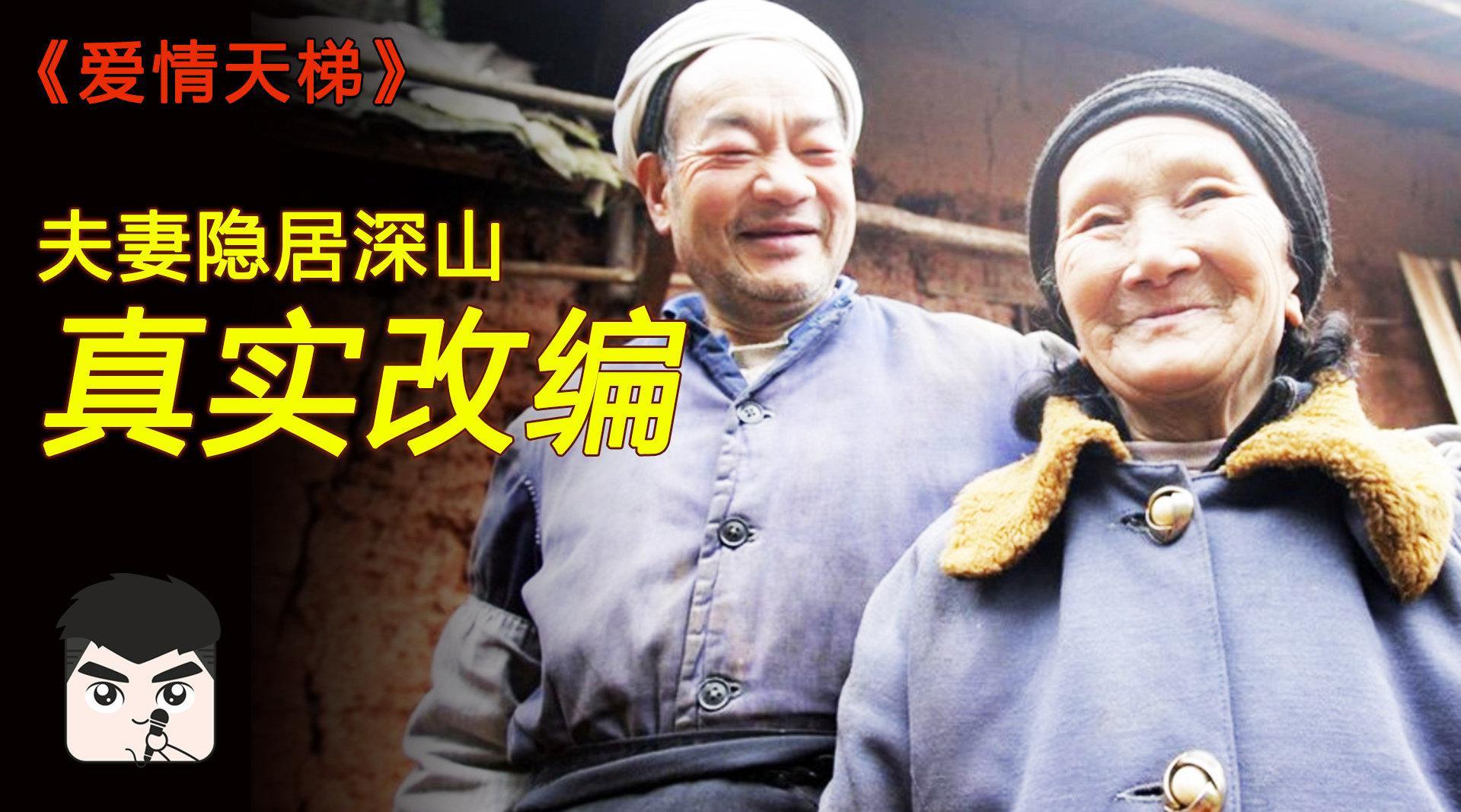 夫妻隐居深山,丈夫为方便妻子出行,50年手凿6208级石梯!
