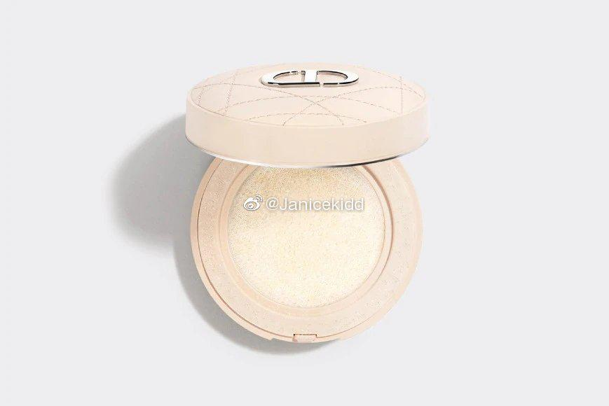 Dior 2020圣诞限定白皮革气垫蜜粉Cushion Powder
