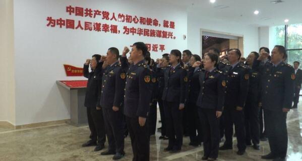 海阳市场监管局坚持党建引领强化监管服务民生