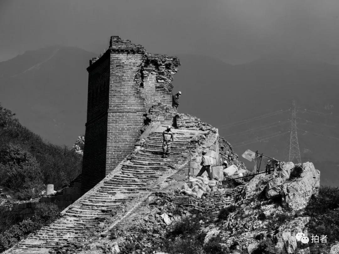 古长城修护之困:和水抢、和树抢、和时间抢图片