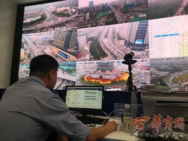 国庆期间进出曲江核心区车流量达290万辆 缓解拥堵 这个系统帮了大忙