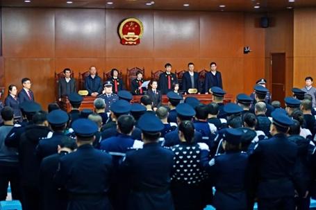 2019年12月,宋琦涉黑构造52名被告人担当审讯,宋琦被判处无期徒刑。