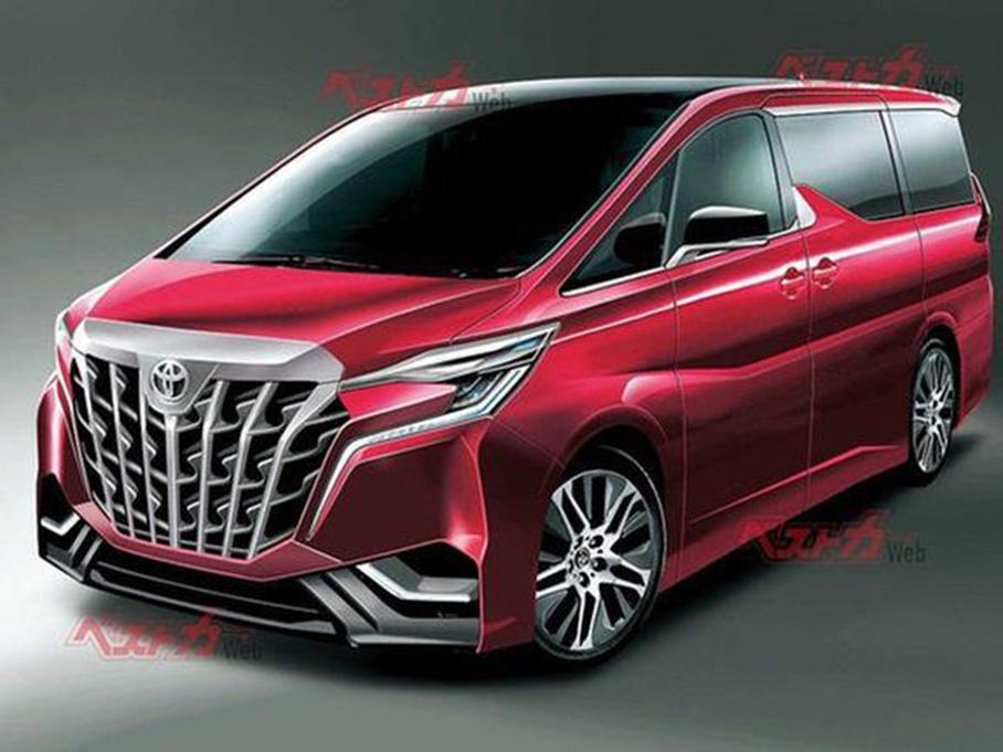 全新丰田埃尔法2022年4月发布 增运动版车型