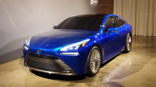 全新丰田Mirai量产版将于12月亮相 配置更新的氢燃料电池技术