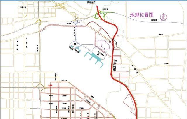 涉及22种方式!太原乌苏机场三期改扩建配套道路工程公示