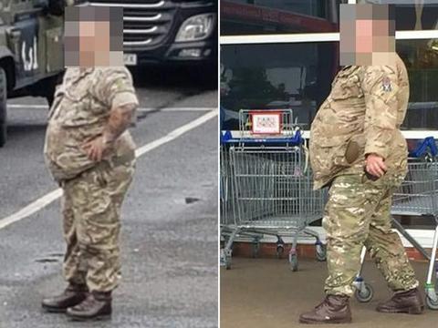 """""""燃烧卡路里""""!英军开除体重342斤士兵,全军1.8万人肥胖"""