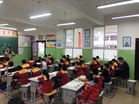 汉阴县漩涡镇中心小学开展教育教学视导工作