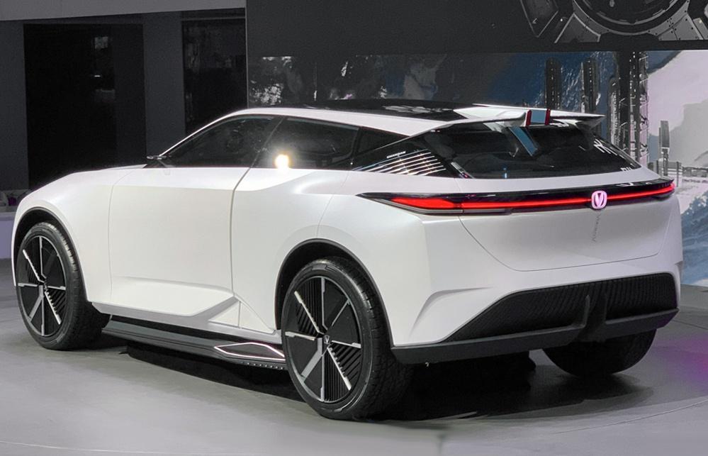 长安Vision-V概念车亮相,外观十分科幻,明年就量产