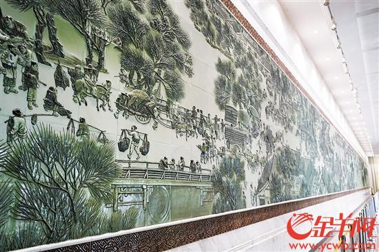 五千年窑火煅烧潮州瓷 匠心成国礼美誉满天下