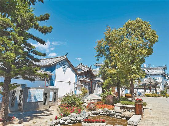 大理市谷胜村:千年古村有了新的风格