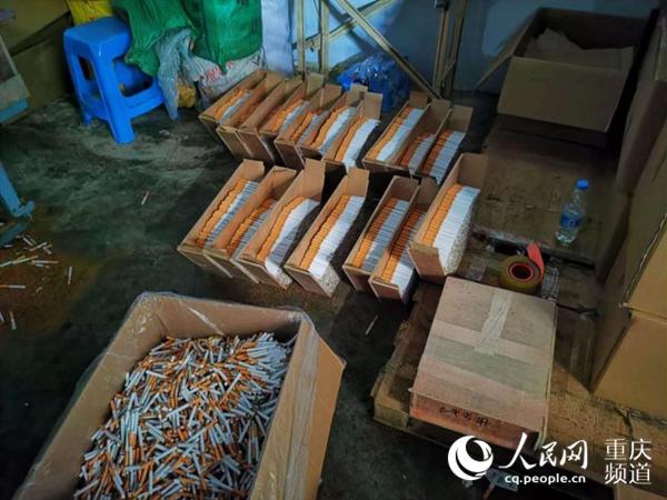 重庆警方破获特大制售假烟团伙案 涉案5千余万元