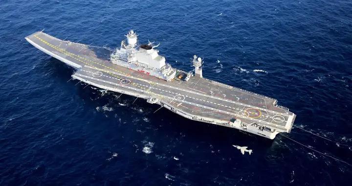 前空军司令透露印度航母真实战力,维克兰特使第三艘航母至关重