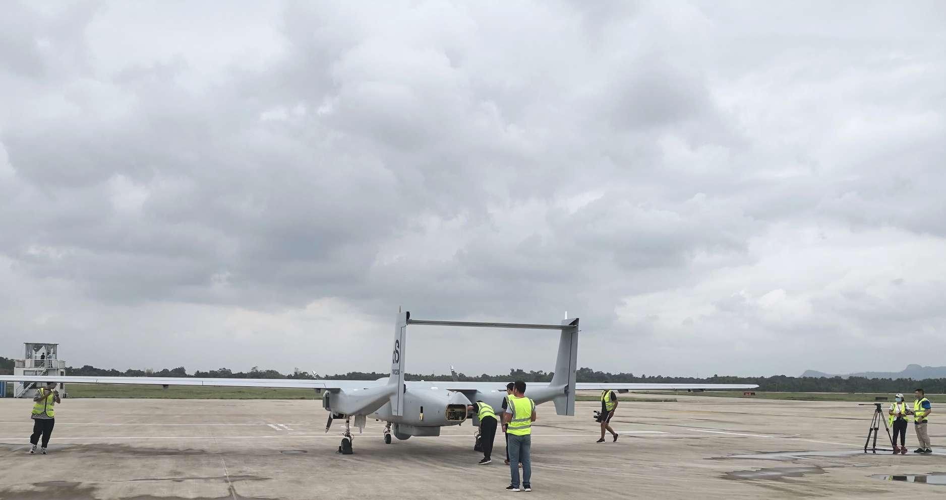 """我国无人机首次进入台风内部观测 """"台风猎人""""讲述追风危险经历图片"""