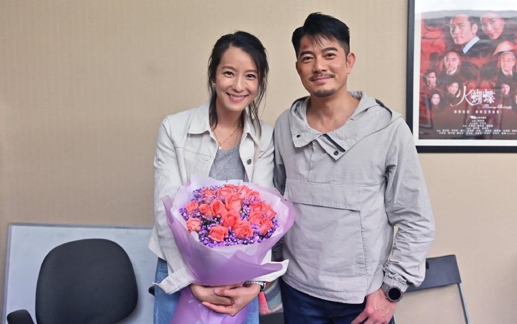 郭富城主演《断网》曝杀青照 任达华赖雅妍等出镜