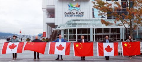 加拿大温哥华友人发表纪念加中建交50周年感言