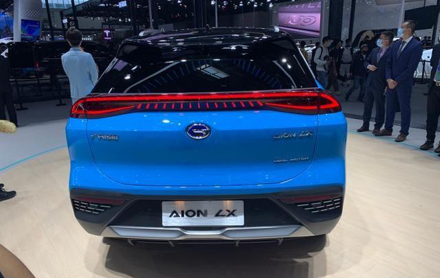 新能源市场中的优等生,广汽Aion LX驾控性能出色,续航可达650km