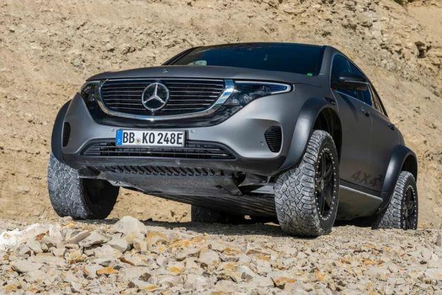戴姆勒发布奔驰EQC 4X4²,电动越野时代真的快来了