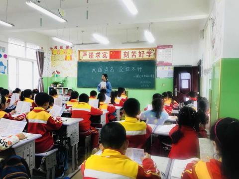 """汉阴县漩涡镇中心小学开展""""人口普查知识进千家""""活动"""