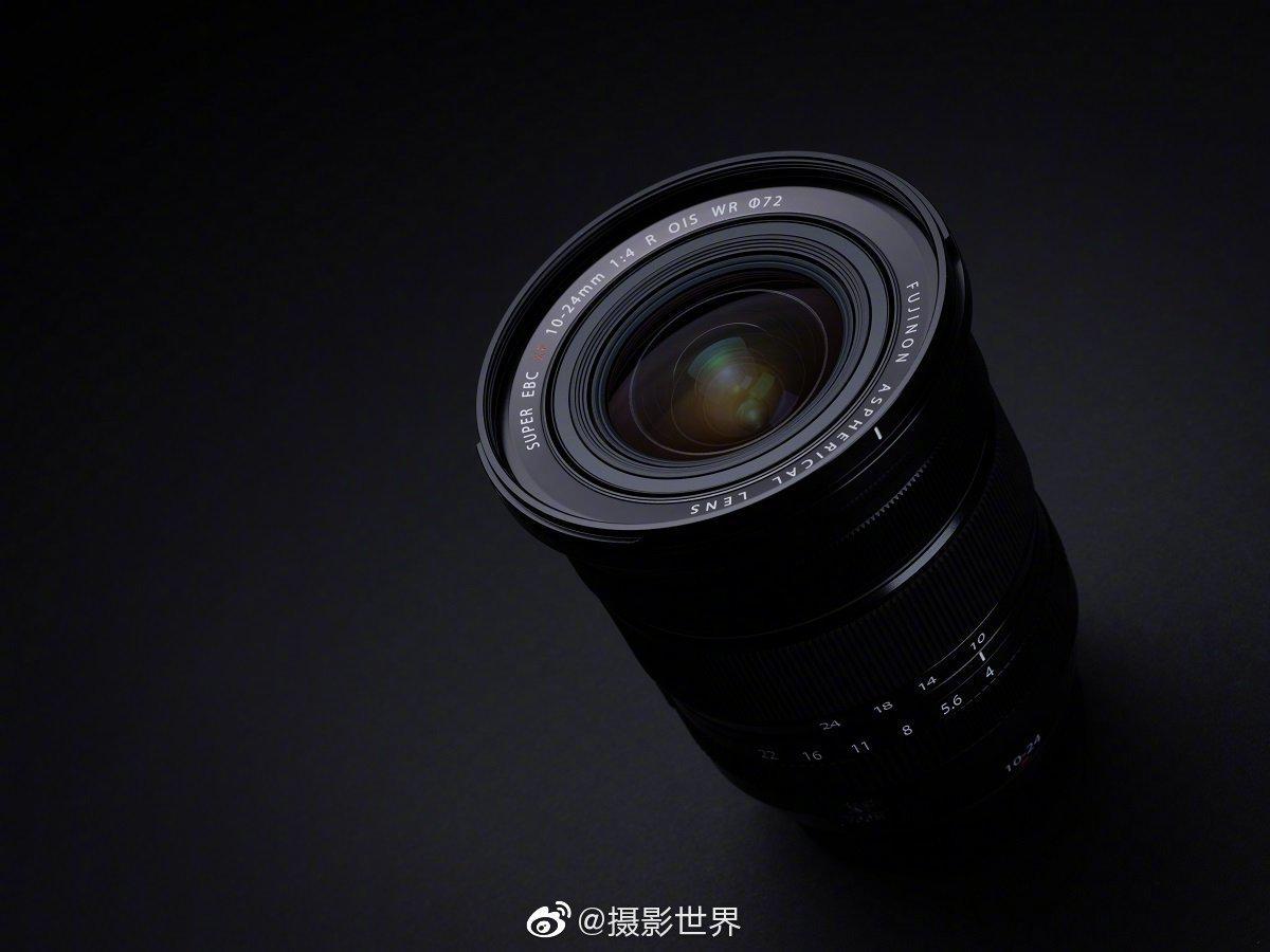 富士@富士数码影像世界 正式发布 XF10-24mmF4 R OIS WR 镜头……