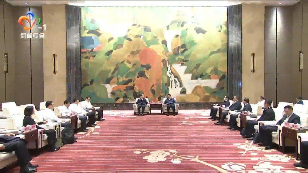 周先旺与中国建设银行行长刘桂平座谈
