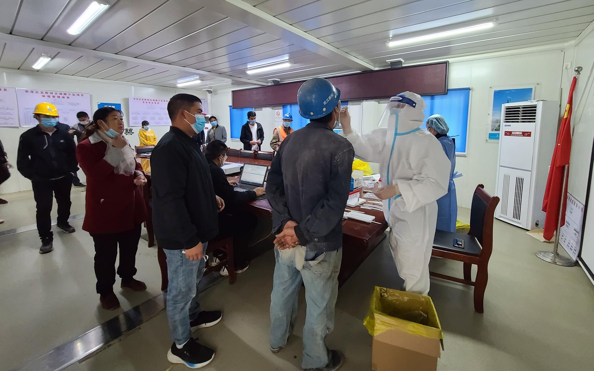 对话青岛核酸检测护士:每天检测近千人 所在社区暂无阳性病例图片
