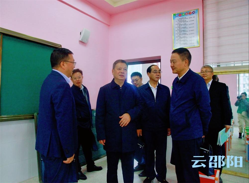 王昌义赴双清区开展中小学幼儿园规划建设评估调研;把握关键