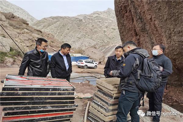 综勘队拜城县铁热克河-苏杭河一带煤炭资源预查项目顺利通过监理检查