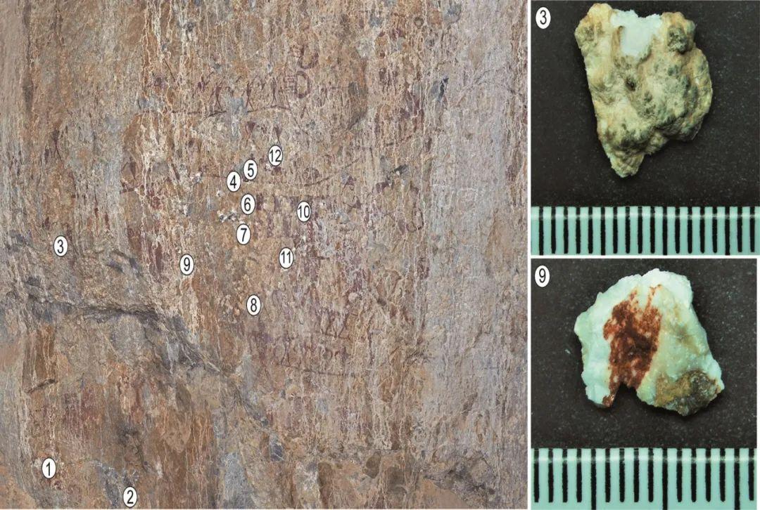 沧源崖画绝对年代为距今3800年至2700年之间