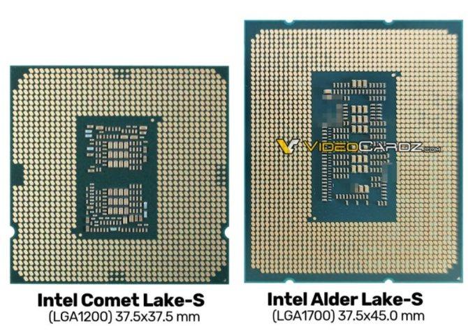 英特尔12代酷睿处理器外观曝光:10nm工艺+高性能大小核