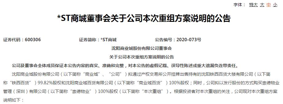 """神秘自然人王强""""曝光"""",投资战绩惊人,刚刚押注*ST商城"""