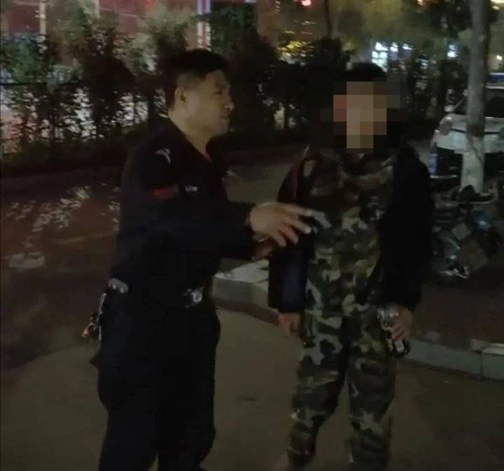 巡逻中走失的男孩 乐陵警方悄悄送他回家