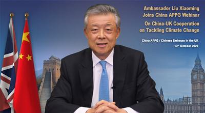 驻英大使刘晓明:中英双方合作大有可为图片