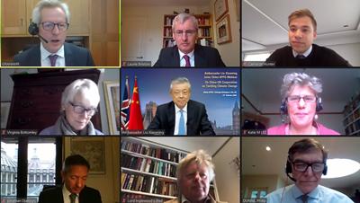 刘晓明:应对全球气候问题,中英合作怎么进行?图片