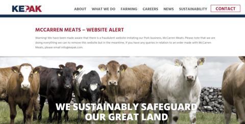 中使馆:有人冒充爱尔兰猪肉企业诈骗中国采购商预付款图片