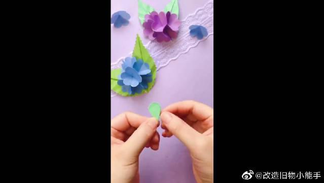 这样做的纸花,可以放很久