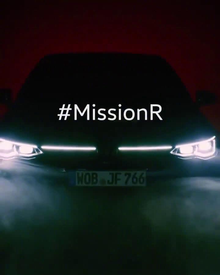 视频:全新一代高尔夫R预告视频,新车将于2020年11月4日正式首发