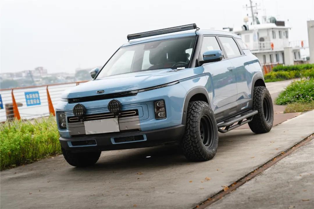 吉利ICON三款新增车型上市,售价9.98-10.88万元