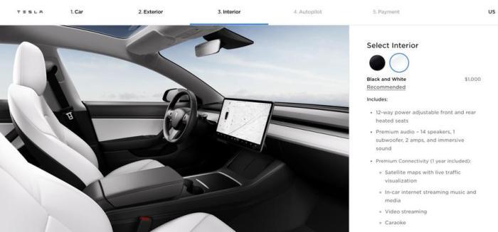 Model 3美国中期改款发布,升级不大,不着急就等新款