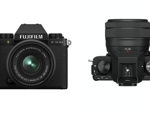富士胶片发布X-S10无反数码相机