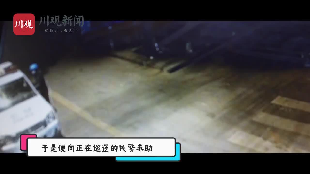 视频 市民凌晨把一只猫头鹰宝宝送到米易民警手里,然后……